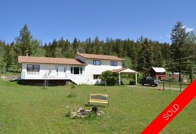Williams Lake House with Acreage for sale:  4 bedroom 2,446 sq.ft. (Listed 2016-08-31)