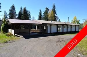 Williams Lake Manufactured with Land for sale:  4 bedroom 1,404 sq.ft. (Listed 2016-09-21)